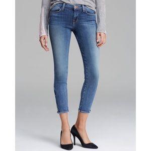 J Brand Jeans 835 Midrise Zip Capri in Tone